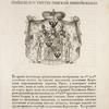 Gerb grafa Orlova imeiushchago titul Rimskoi Imperii kniazia. Coat of arms of count Orlov, who holds the title of prince of Roman Empire.