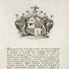 Gerb roda Tarbeevykh. Coat of arms of the family of Tarbeevs.