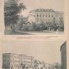 Fligel' drevniago Korolevskago Dvortsa v Shtutgarte; Novyi dvorets Naslednago Printsa Virtembergskago.