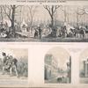 Kazachii bivuak na Eliseiskikh Poliakh v Parizhe, 1814g.