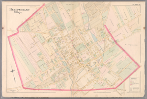 Plate 10: [Bounded by Intersection Street, Franklin Street, Stevens Avenue, Main Street, Columbia Street, Stewart Avenue, Bennett Avenue, Fulton Street, William Street, Gerard Street, Greenwich Street, Grove Street, Prospect Street, Franklin Street, Front Street, Fulton Street, Cathedral Avenue, Atlantic Street and Cedar Valley Street.]