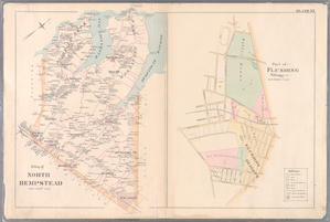 Plate 33: Town of North Hempstead. - Part of Flushing Village.