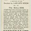The bull-dog.