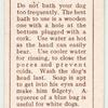 Prince Charles Spaniel - washing.