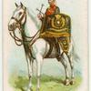 Drum horse of the 5th Royal Irish Lancers.