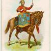 Drum horse of the 4th, Royal Irish Dragoon Guards.
