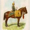 Drum horse of the 4th, Queen's Own Hussars.