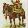 Drum horse of the 16th, Queen's Lancers.