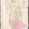 Map of the 23d and 24th Wards, New York, compiled for an index to volumes of Important Maps.