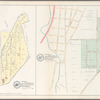 Plate 11: Map No. 165 [Bounded by 3 Rod Road, Coles Road and Southern Westchester Turnpike.] - Map No. 232: [Bounded by 6th St., Prospect Ave., Road leading from the Harlem Bridge to the Village of Westchester, Post Road and Railroad Avenue.]