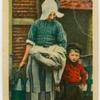 Brother and sister, Volendam.