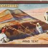 Arab tent.
