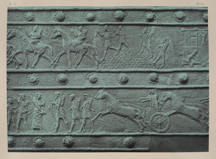 The bronze ornaments of the palace gates of Balawat (Shalmaneser II, B.C. 859-825)  1880-1902