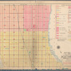 Outline and index map of Volume Two, Atlas of New York City, borough of Manhattan, 14th Street to 59th Street