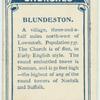 Blundeston.