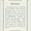 Bacchus.