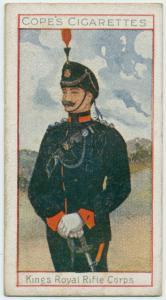 King's Royal Rifle Corps.