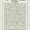 "The ""Heracles"" leaving Croydon."