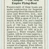 """""""Canopus"""" - The new empire flying-boat."""