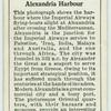 Alexandria Harbour.