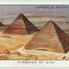 Pyramids of Giza, near Cairo.
