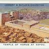 Temple of Horus at Edfou, Upper Egypt.
