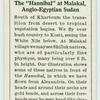 """The """"Hannibal"""" at Malakal. Anglo-Egyptian Sudan."""