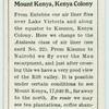 Mount Kenya, Kenya Colony.