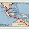 England-India-Malaysia-Australia Route: Map B.