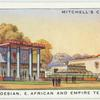 The S. Rhodesian, E. African and Empire Tea Pavilions.