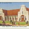 The South African Pavilion.