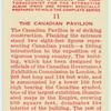 The Canadian Pavilion.