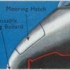 Mooring hatch.