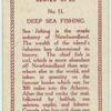 Deep sea fishing.