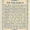 H.M. King George VI.