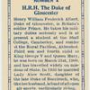 H.R.H. The Duke of Gloucester.