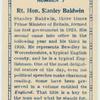 Rt. Hon. Stanley Baldwin.