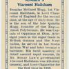 Viscount Hailsham.