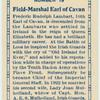Field-Marshal Earl of Cavan.