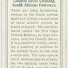 Gouritz River Crossing, South African Railways.