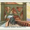 Crossing Quebec Bridge, C.N.R. [Canadian National Railway].