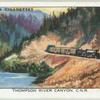 Thompson River Canyon, C.N.R. [Canadian National Railway].