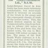"The ""Sydney-Melbourne Ltd.,"" N.S.W. [New South Wales]."