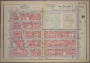 Plate 26, Part of Sections 3,4&5: [Bounded by W. 42nd Street, Fifth Avenue, W. 37th Street and Seventh Avenue.]