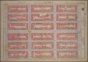 Plate 31, Part of Section 5: [Bounded by E. 89th Street, Avenue A, E. 83rd Street and Third Avenue.]