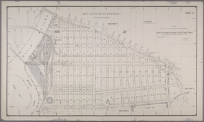 Map of Section 1. [Bounded by Third Avenue, Westchester Avenue, St. Ann's Avenue, E. 132nd Street, Willis Bridge and E. 126th Street.]
