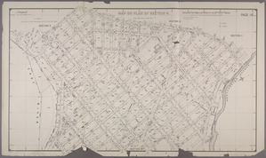 Map or Plan of Section 4. [Bounded by Poillon Street, Mohawk Avenue, Edgewater Road, Bacon Street, Randall Avenue, Halleck Street, Eastern Boulevard, Whittier Street, East Bay Avenue, Bryant Street, Viele Avenue, Coster Street, Ryawa Avenue.]