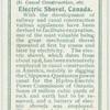 Electric shovel, Canada.