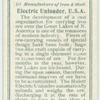 Electric unloader, U.S.A.
