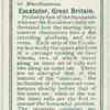 Escalator, Great Britain.